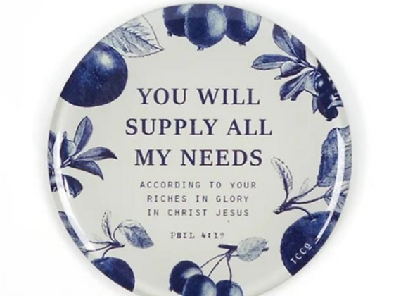You Will Supply All My Needs {Magnet}