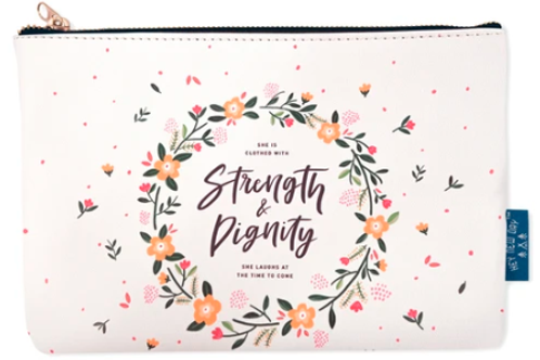 Strength And Dignity - Pouch