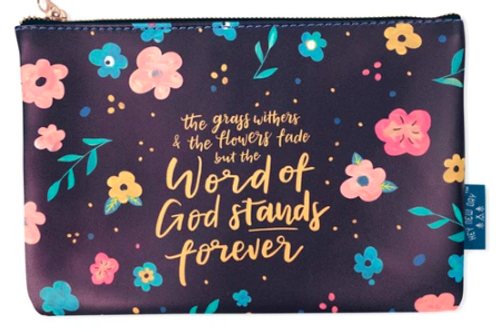 Word Of God Stands Forever - Pouch