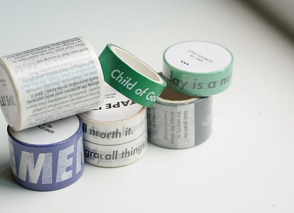 Washi Tapes (Narrow)