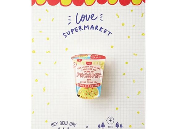 Cup Noodles Prosper {LOVE SUPERMARKET}