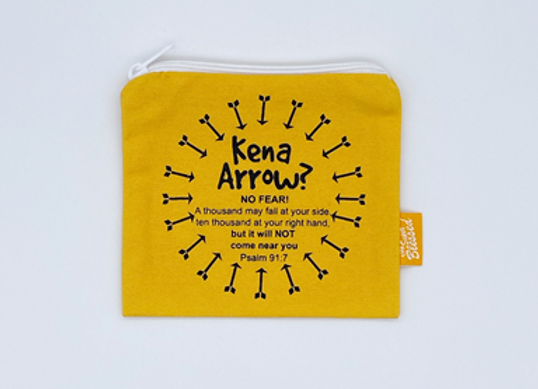 The Super Blessed Coin Pouch, Cloth - Kena Arrow