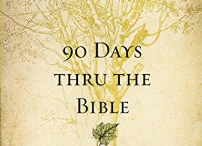 90 Days Thru the Bible: A Devotional Journey from Walk Thru the Bible