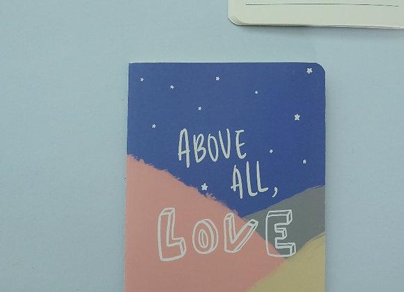 MORI- Above All, Love - Refill NOTEBOOK