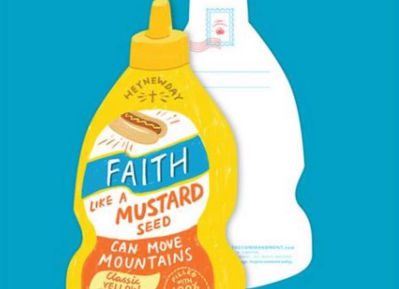 (Love Supermarket) Faith Mustard Seed Sauce Card