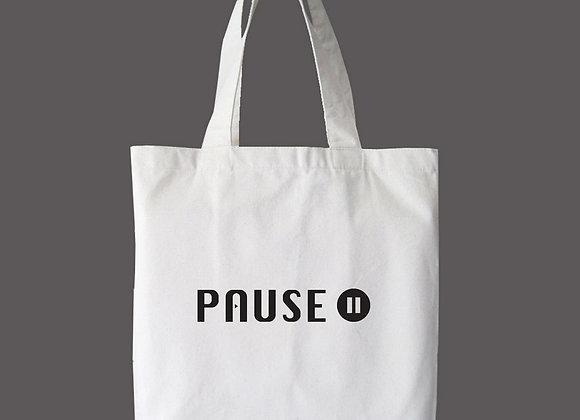 Pause - Genesis 2:2 Tote Bag