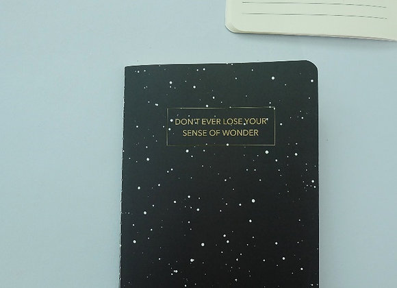 MORI- Don't lose your wonder - Refill NOTEBOOK