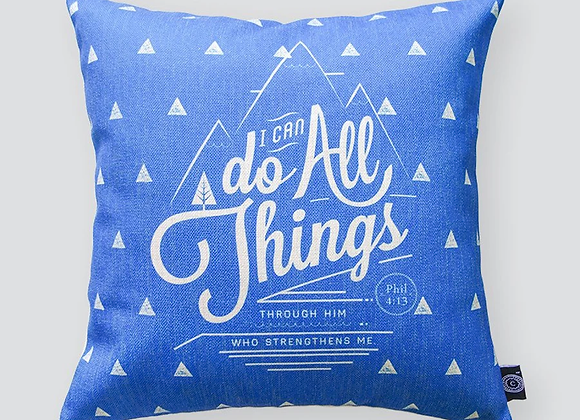 I Can Do All Things {Cushion Cover}