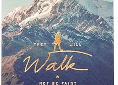 Walk & Not Be Faint {Card}