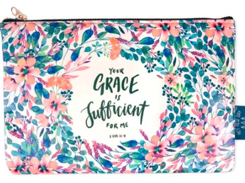 Grace Is Sufficient - Pouch