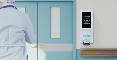 Digital Hand Sanitizing Kiosk Healthcare