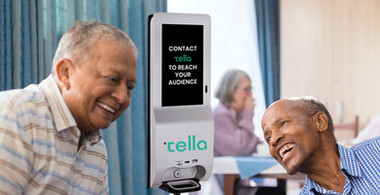 Digital Hand Sanitizing Kiosk, Assisted Living Placement