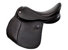 Farrington Una Pony GP Saddle in Black Smooth Leather