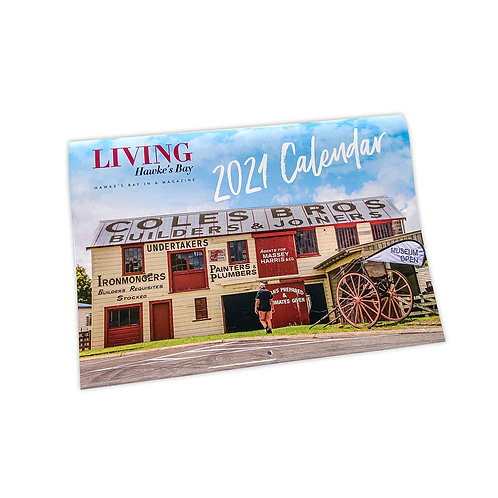 2021 LIVING Hawke's Bay Calendar