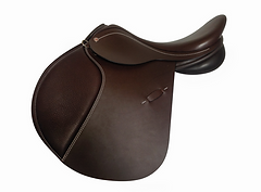 Farrington Altus Pony Jump in Brown Smooth Leather
