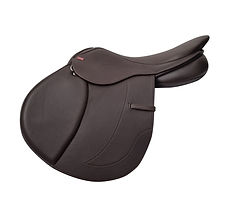 NSC Advanced Competitor Ultra Jumping Saddle in Brown Hide