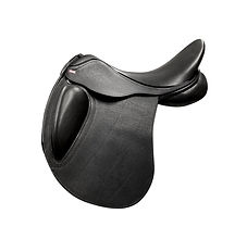 NSC Elite Mono Ultra Dressage Saddle in Black Buffalo