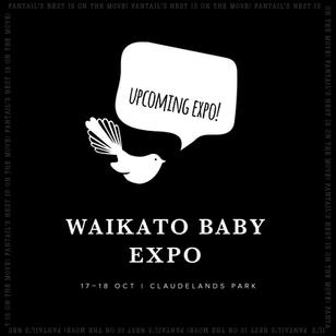 We'll be at the Waikato Baby Expo 17–18 October