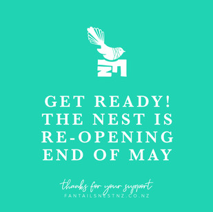 The Nest is re-opening end of May