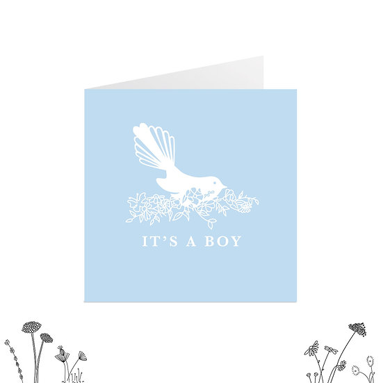 'It's a Boy' Greeting Card