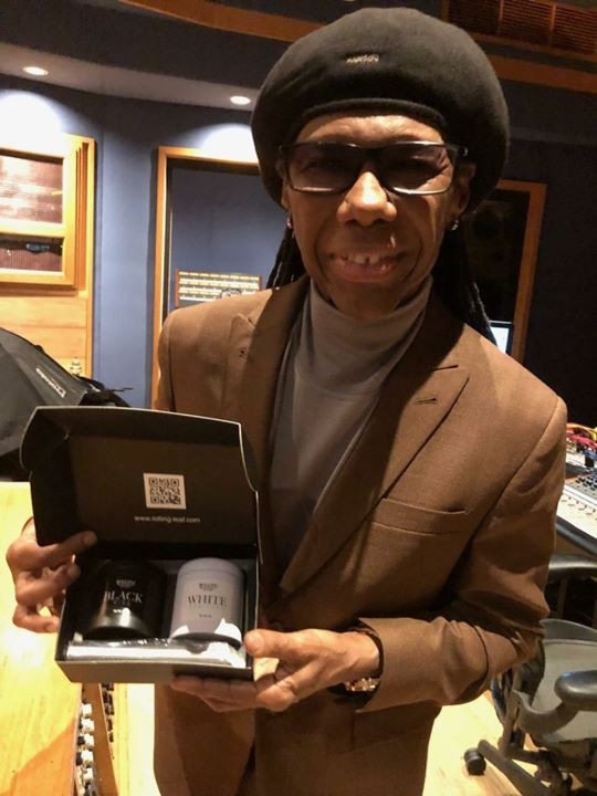 Rolling Leaf ❤'s Nile Rodgers!