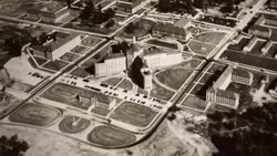 Administration building-Aerial view