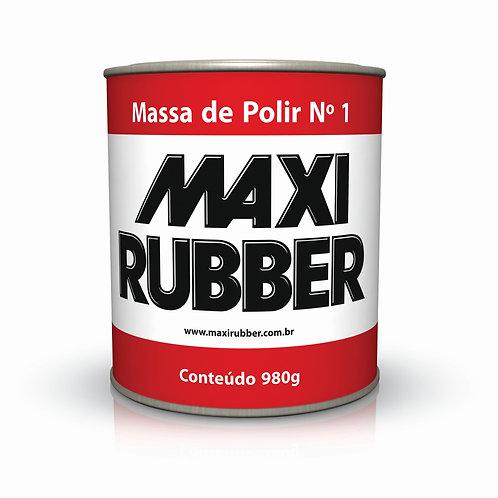 Massa de Polir N°1 e N°2 Maxi Rubber