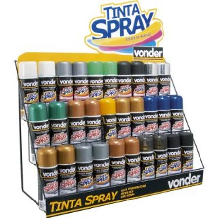 Expositor para Tintas Spray
