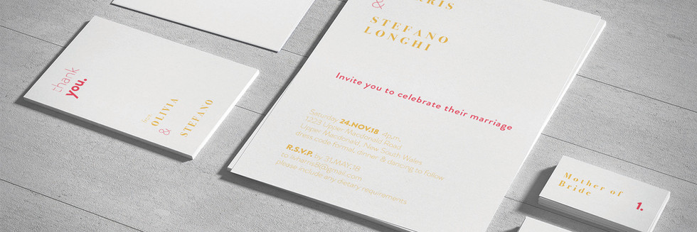 The Longhi's Wedding Invitations
