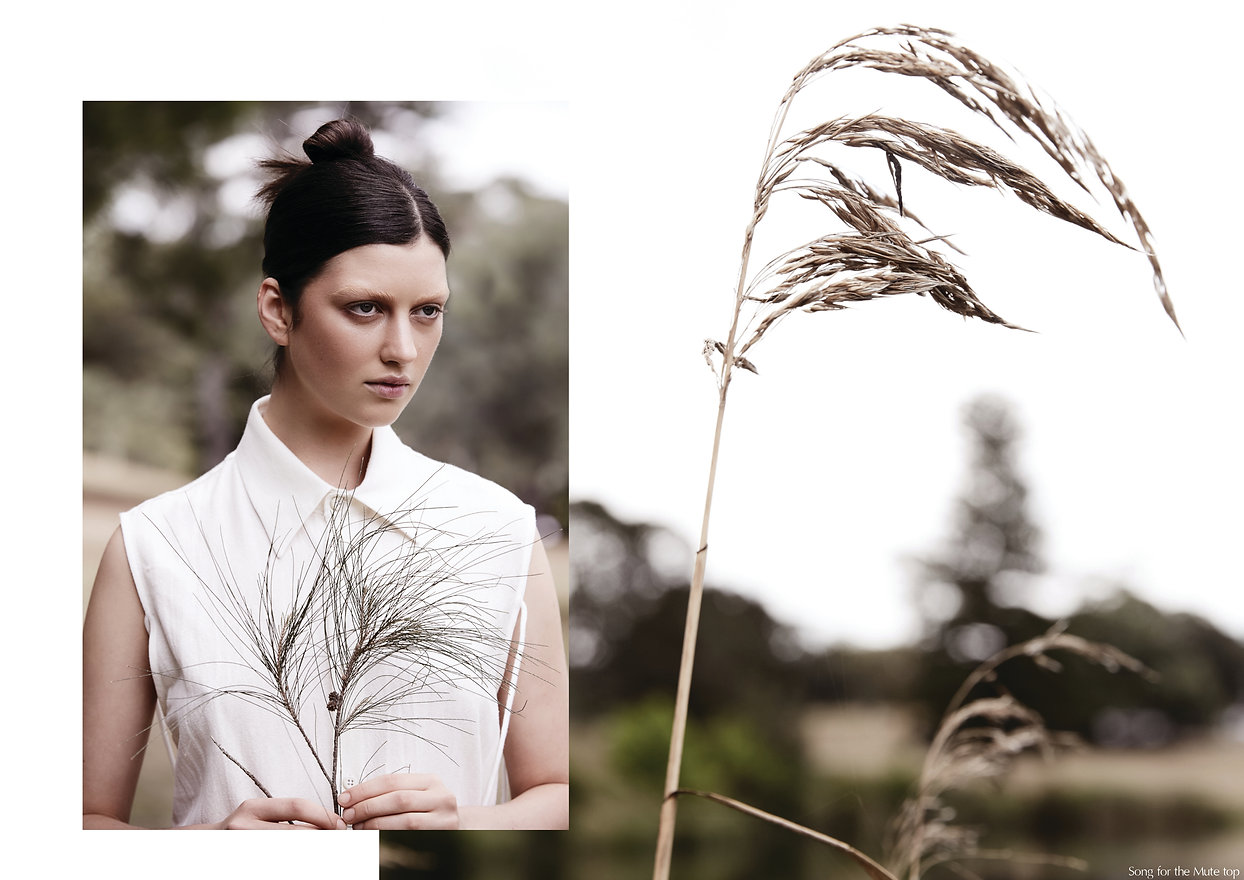 fashion editorial for stories collective art direction styling layout design stylist Goldfox Creative Lauen Jones photography Carlo Fernandes hair and makeup Sandra Wograndl mode Danika Rooney