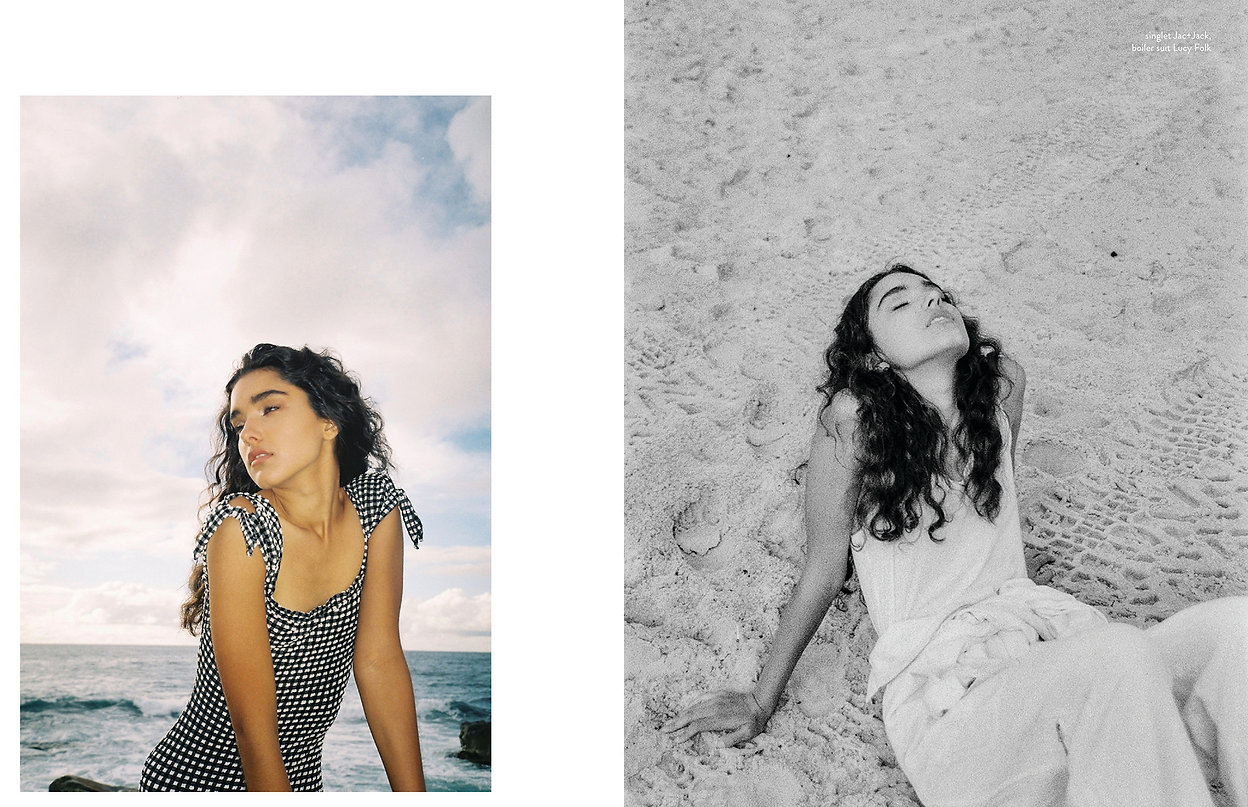 womens fashion editorial for flanelle magazine