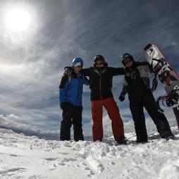 "On top of the world aka ""Mammoth Summit"""
