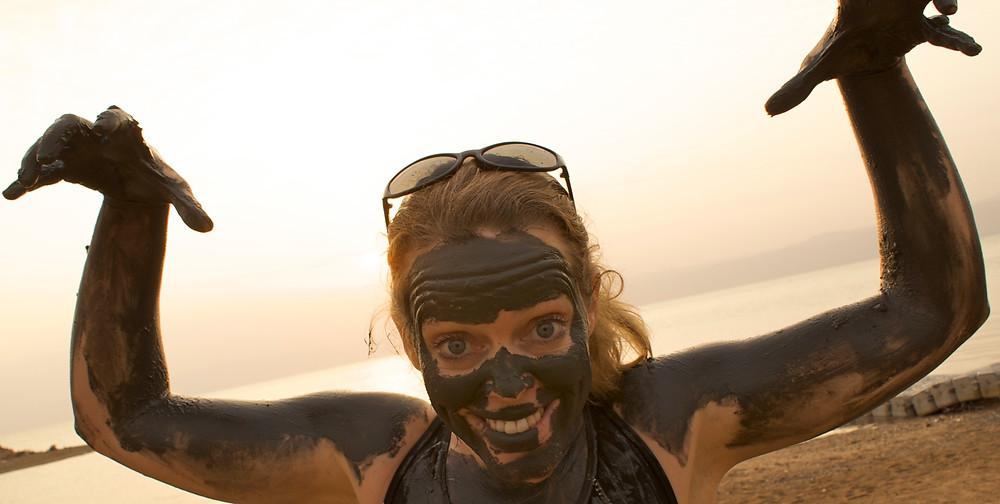 Schlammschlacht am Toten Meer