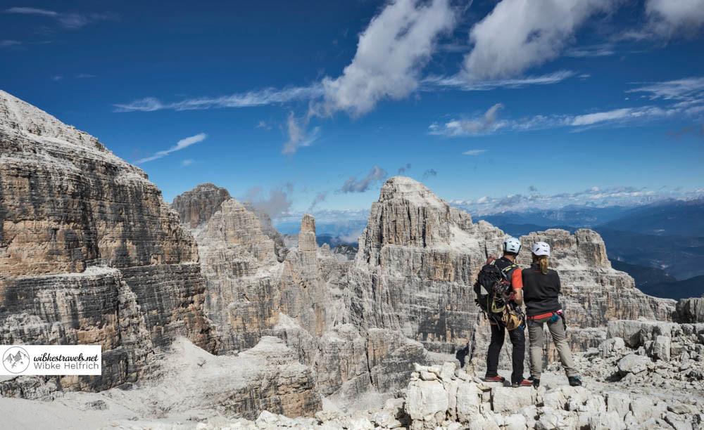 Grandioses Panorama in den Brenta-Dolomiten
