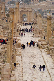 Die römische Stadt Jerasch
