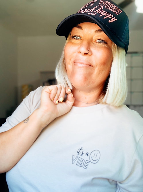 Happiness is a Vibe Tee