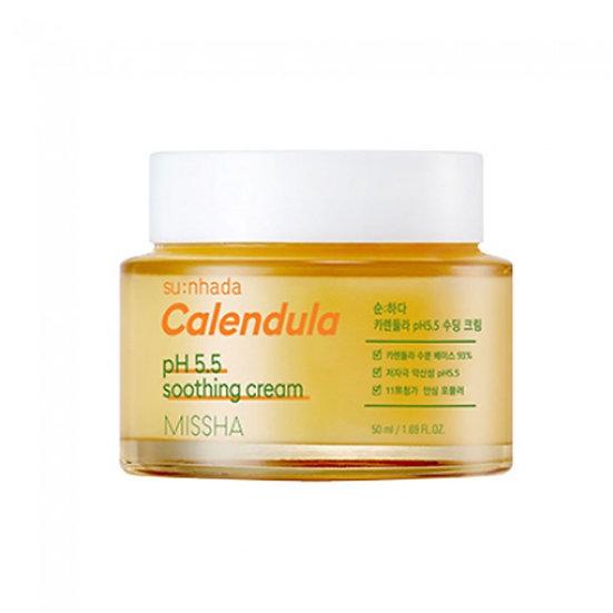 MisshaCalendula pH.5.5 soothing cream 50мл