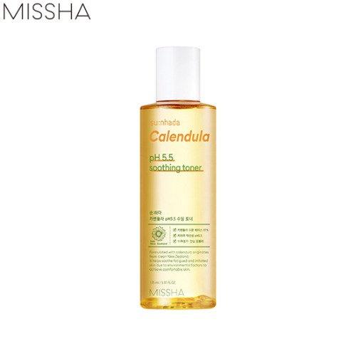 Тонер для пробленмной кожи Missha Calendula pH.5.5 soothing toner 175мл