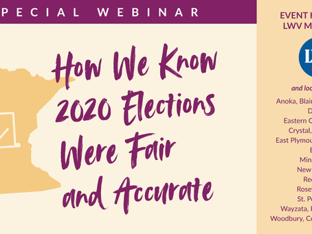 How We Know 2020 Elections Were Fair and Accurate