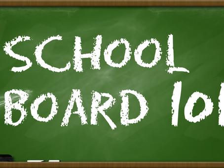 School Board 101 - Recording Available