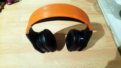 headphone band used for a client. He is very pleased with the result.