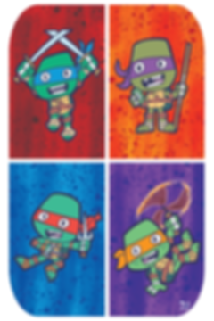 Cute Nickelodeon Teenage Mutant Ninja Turtles