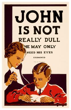 John is not dull