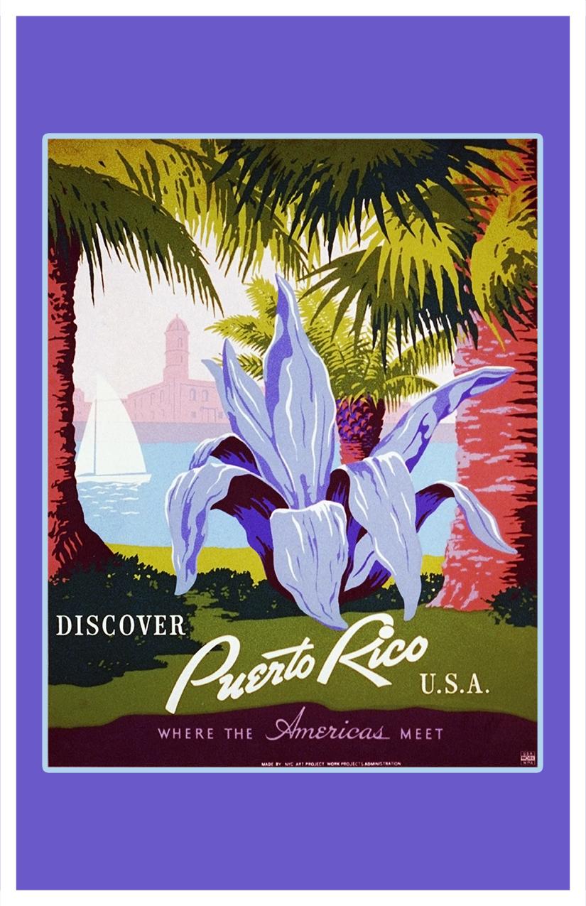Puerto Rico Flower