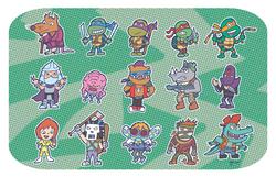 Ninja Turtles 80s
