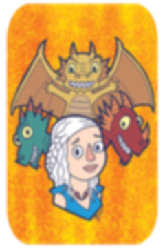 Khaleesi, Game of Thrones, dragons