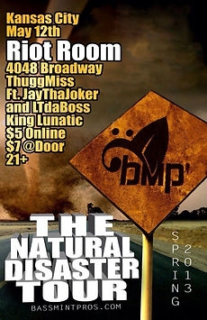 The Natural Disaster Tour Kansas City ThuggMiss