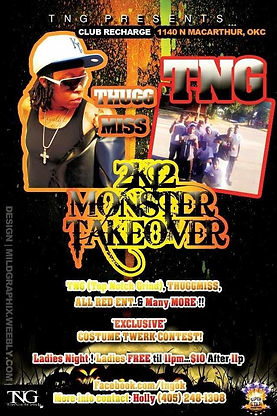 TNG & ThuggMiss Monster Takeover 2k12