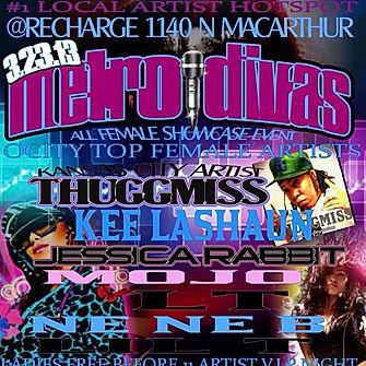 ThuggMiss Metro Diva flyer
