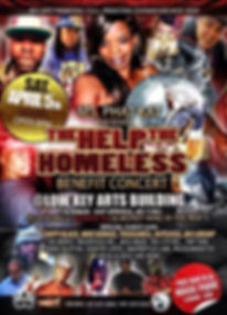 Help The Homless Benefit Concert wit ThuggMiss